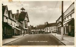 MARKET PLACE, T.W.PANNELL on left