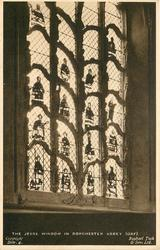 THE JESSE WINDOW IN DORCHESTER ABBEY