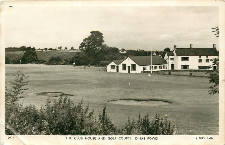 THE CLUB HOUSE AND GOLF COURSE