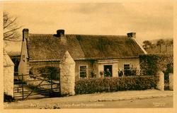 AN IRISH FARM COTTAGE, NEAR DRAPERSTOWN