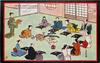 JAPANESE BANQUET IN A TEAROOM (AFTER THE ORIGINAL JAPANESE DRAWING)