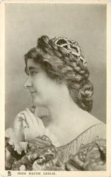 MISS MAUDE LESLIE