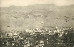 SHOWING HARBOUR AND KOWLOON ON THE MAINLAND