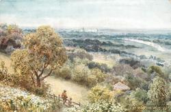 THE THAMES VALLEY, FROM COOPER'S HILL
