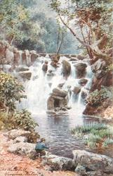 THE WATERFALL, VIRGINIA WATER