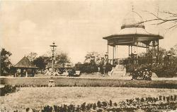 THE BANDSTAND & LAWNS, BAND GARDENS