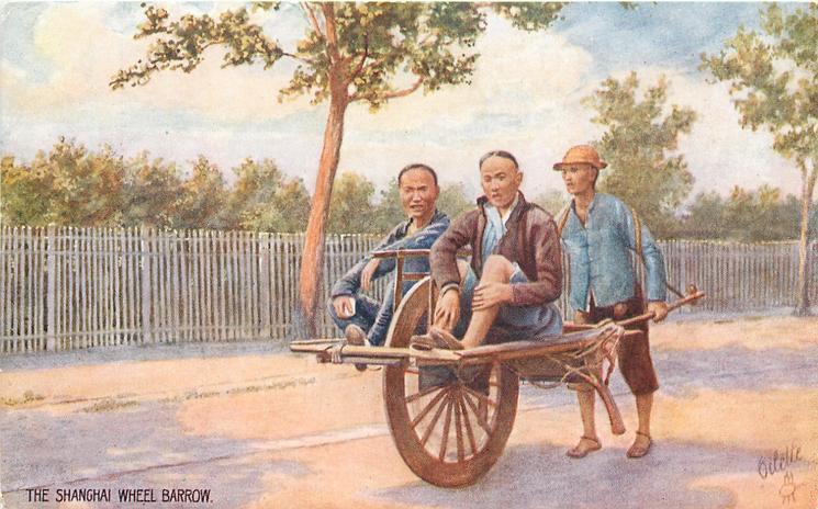 THE SHANGHAI WHEEL BARROW