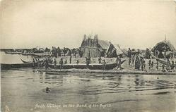ARAB VILLAGE ON THE BANK OF THE TIGRIS