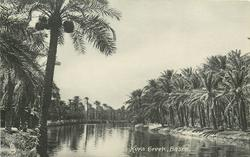 KORA CREEK,  BASRA   no boats