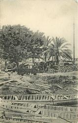 TURKISH CAPTURED GUNS, MESOPOTAMIA