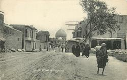 TYPICAL STREET IN BAGHDAD