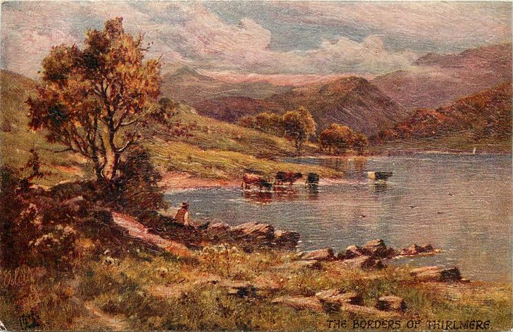 THE BORDERS OF THIRLMERE