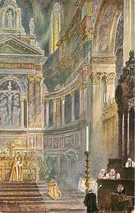 ST. PAUL'S, THE SANCTUARY