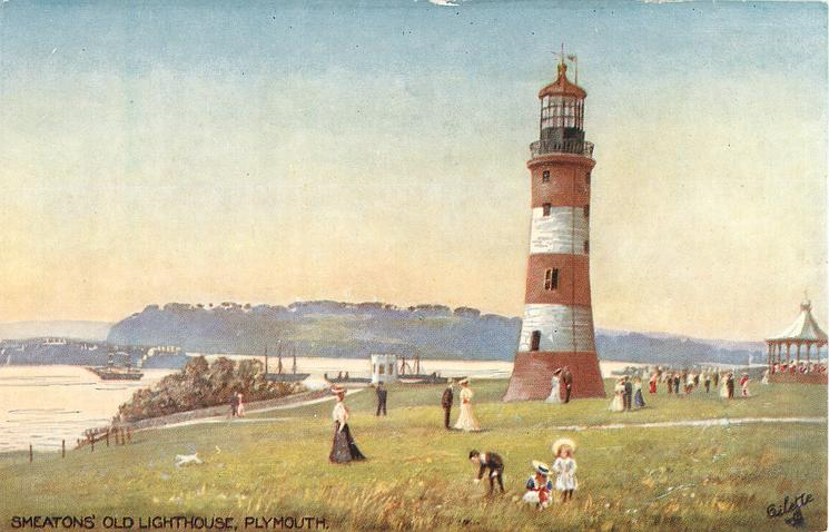 SMEATONS' OLD LIGHTHOUSE, PLYMOUTH