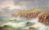 SELLICK BAY AND LIGHTHOUSE, BRIDLINGTON