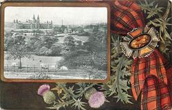 GLASGOW, KELVINGROVE PARK AND ART GALLERIES