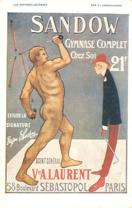 SANDOW GYMNASE COMPLET CHEZ SOI 21 F, EXIGER LA SIGNATURE//SEBASTOPOL, PARIS