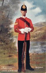 SERGEANT-THE SHERWOOD FORESTERS (NOTTS & DERBY REGT.)