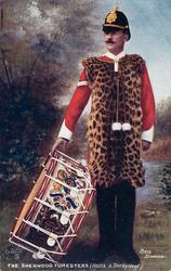BASS DRUMMER-THE SHERWOOD FORESTERS (NOTTS & DERBY REGT.)