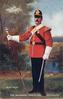 DRUM MAJOR-THE SHERWOOD FORESTERS (NOTTS & DERBY REGT.)