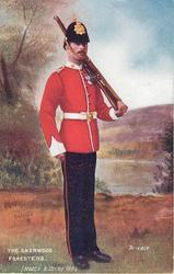 PRIVATE-THE SHERWOOD FORESTERS (NOTTS & DERBY REGT.)