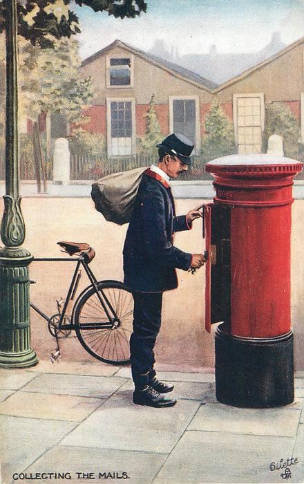COLLECTING THE MAILS