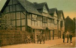 STRATFORD-ON-AVON, SHAKESPEARE'S HOUSE