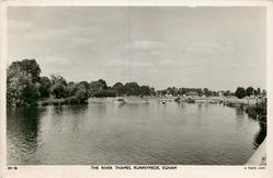 THE RIVER THAMES, RUNNYMEDE