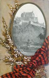 EDINBURGH, THE CASTLE AND ROSS FOUNTAIN