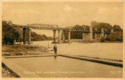 THE BATHING POOL AND WEIRS BRIDGE