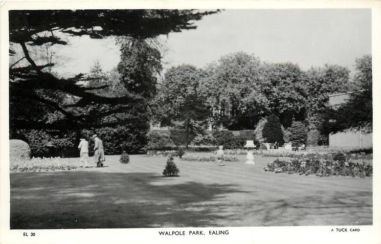 WALPOLE PARK, lawn
