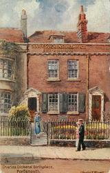 CHARLES DICKENS' BIRTHPLACE