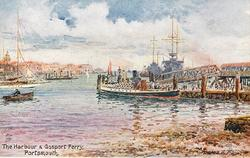 THE HARBOUR AND GOSPORT FERRY
