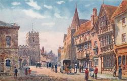 HIGH STREET, GUILD CHAPEL & SCHOOL, HARVARD HOUSE