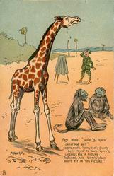 giraffe crying