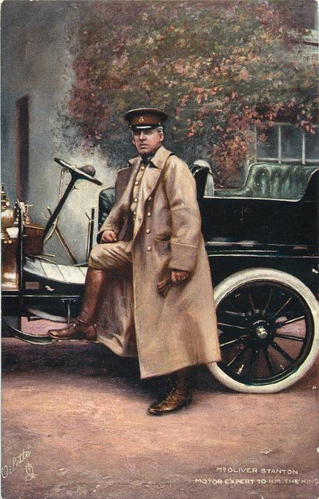 MR OLIVER STANTON, MOTOR EXPERT TO H.M. THE KING
