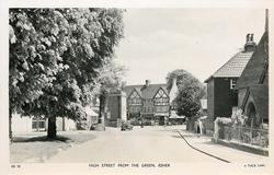 HIGH STREET FROM THE GREEN