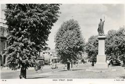 HIGH STREET monument on right