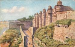 GWALIOR FORTRESS, exterior