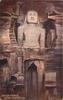 GWALIOR FORTRESS, COLOSSAL FIGURE 62ft. HIGH