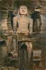 GWALIOR FORTRESS. COLOSSAL FIGURE 62 FT. HIGH.