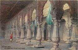 THE DURBAR HALL, MYSORE STATE PALACE