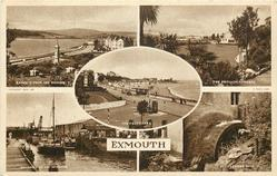 5 insets  EXMOUTH