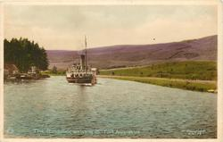 THE GONDOLIER, ARRIVING AT FORT AUGUSTUS