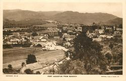 FORT AUGUSTUS FROM BUNOICH