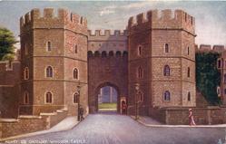 HENRY VIII GATEWAY, WINDSOR CASTLE