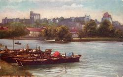 WINDSOR CASTLE FROM THE RIVER