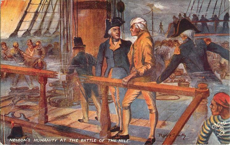 NELSON'S HUMANITY AT THE BATTLE OF THE NILE