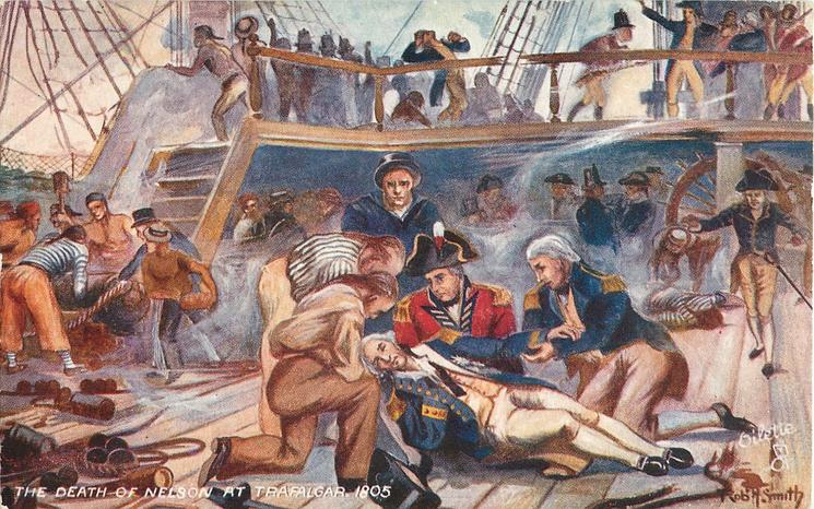 DEATH OF NELSON AT TRAFALGAR,THE, 1805
