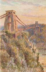SUSPENSION BRIDGE, CLIFTON vertical